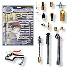 Ajtools 18pc Pneumatic Accessory Kit 24 C